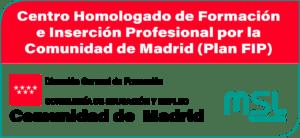 Centro Homologado de Formación e Inserción Profesional por la Comunidad de Madrid (Plan FIP)